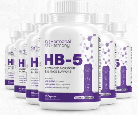 HB5 Hormonal Harmony Pills - Ultimate Hormone Balance Support