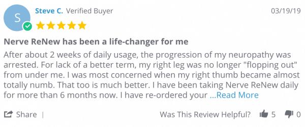 Nerve Renew User Reviews