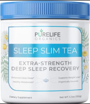 PureLife Organics Sleep Slim Tea Supplement