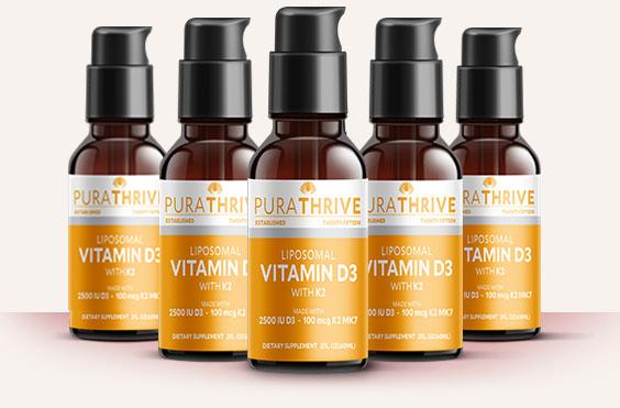 purathrive liposomal vitamin d3 with k2 Solution