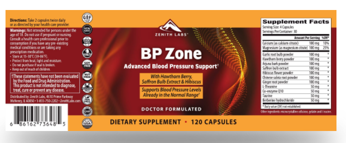 BP Zone Capsules - Used Ingredients Cause Side Effects? Check