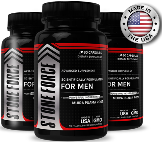 Stone Force Male Enhancement Pills 2021 - Powerful Ingredients Added? Read