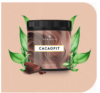 CacaoFit Chocolate Superfood Mix Blend