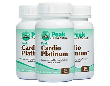 Peak Cardio Platinum Supplement Reviews