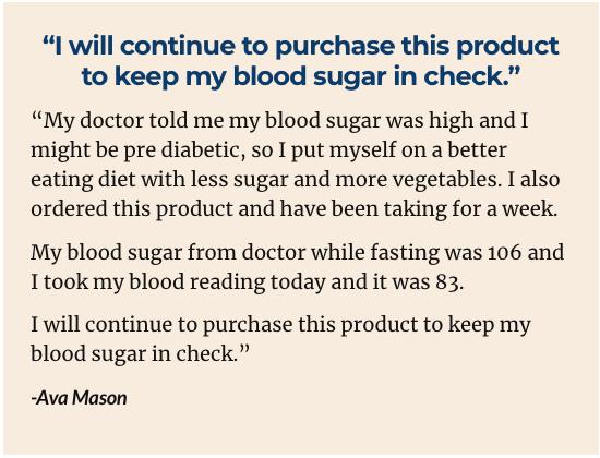 GlucoseShield Testimonials