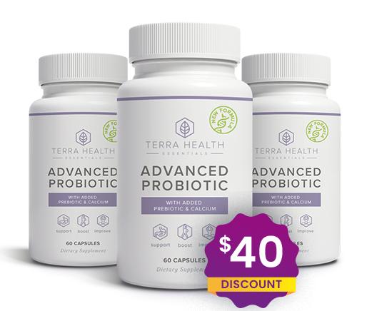 Terra Health Essentials Advanced Probiotics Supplement