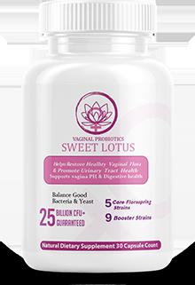 Vaginal Probiotics Sweet Lotus Supplement