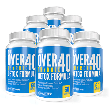 The OVER-40 Thyroid Detox Formula Reviews