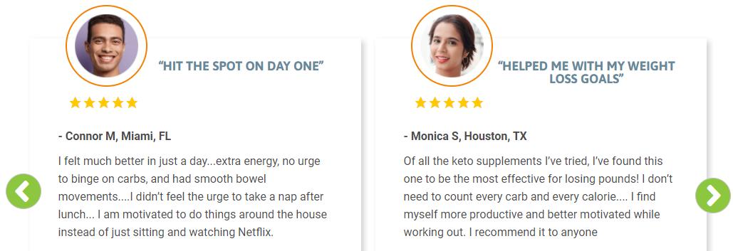 Oweli BHB Salts Customer Reviews